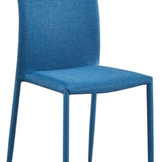 Jídelní židle Rudolfo, modrá látka