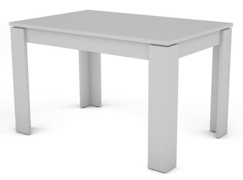 Jídelní stůl Inter 120x80 cm, bílý
