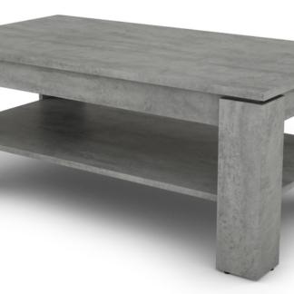 Konferenční stolek Inter, šedý beton