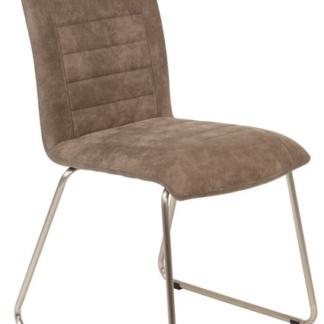 Jídelní židle Aruba 6, blátivá vintage látka