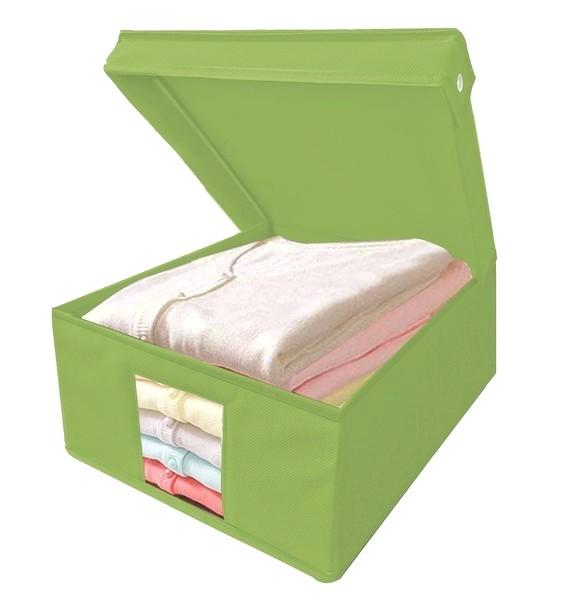 Úložný box Cover, vel. S, zelený