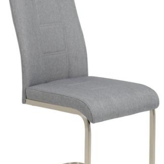Jídelní židle Amber 6, šedá látka