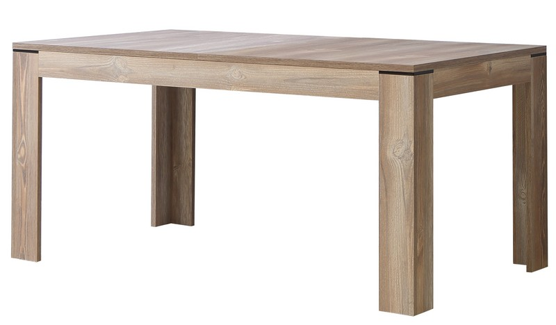 Jídelní stůl Telida 160x90 cm, rozkládací