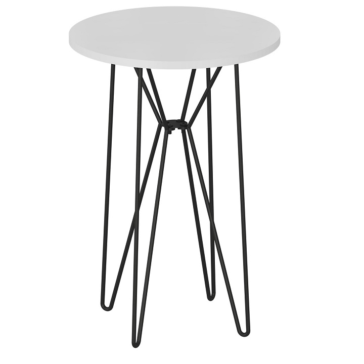Příruční stůl, RUBEN 0000191795 Tempo Kondela Bílá