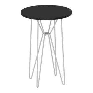 Příruční stůl, RUBEN 0000191795 Tempo Kondela Černá
