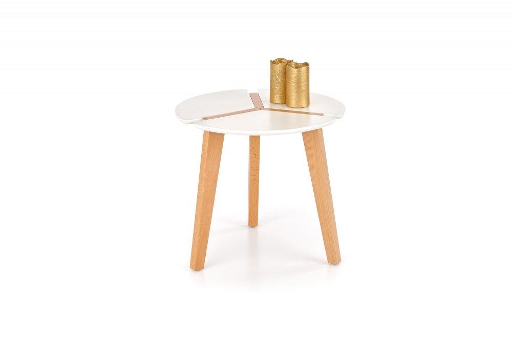 Odkládací stolek ZETA Halmar Bílá