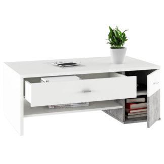 Konferenční stolek, DILANO 0000238047 Tempo Kondela Beton