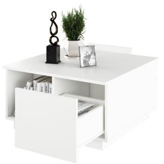 Konferenční stolek, DALAN 0000238057 Tempo Kondela Bílá