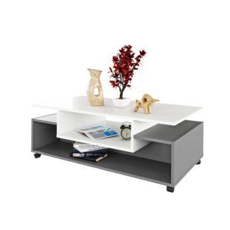 Konferenční stolek na kolečkách, DALEN 0000238016 Tempo Kondela Grafit