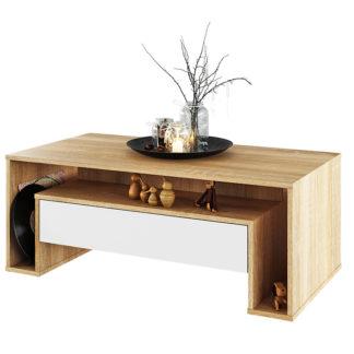 Konferenční stolek, DAWSON 0000238022 Tempo Kondela Dub sonoma