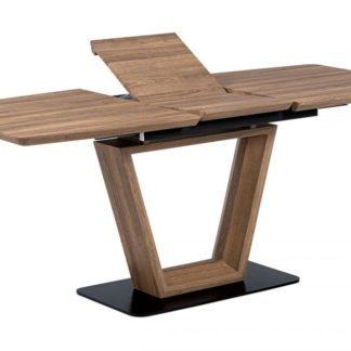 Jídelní stůl HT-814 OAK3 divoký dub / matná černá Autronic