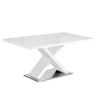 Jídelní stůl, FARNEL 0000242918 Tempo Kondela Bílá