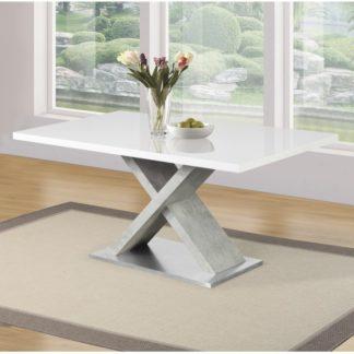 Jídelní stůl, FARNEL 0000242918 Tempo Kondela Beton