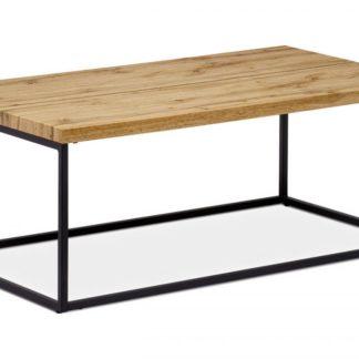 Konferenční stolek AHG-257 OAK divoký dub / černá Autronic