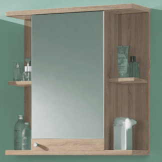 Koupelnová skříňka se zrcadlem Poseidon, dub Sonoma