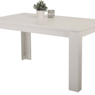 Jídelní stůl Amanda 140x80 cm, bílý