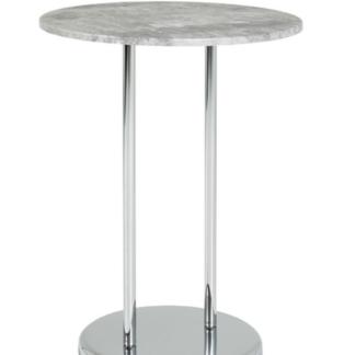Odkládací stolek Lupus, šedý beton