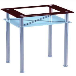 Jídelní stůl B66 60x80 hnědá - FALCO