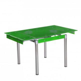 Rozkládací jídelní stůl Kent zelený - HALMAR