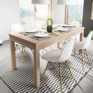 Rozkládací jídelní stůl Axel 160x80 dub sonoma - FALCO