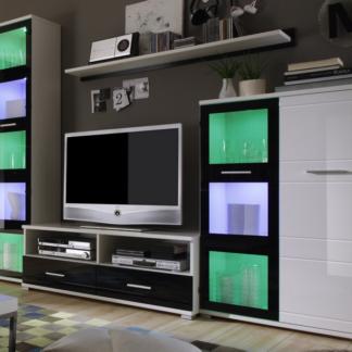 Obývací stěna Ultra 3, s osvětlením