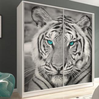Šatní skříň Inspirato, motiv tygr