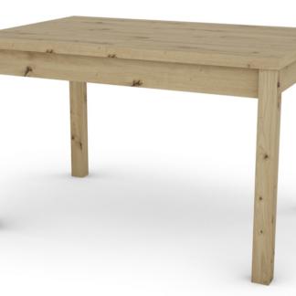 Jídelní stůl Adam 120x80 cm, dub artisan, rozkládací