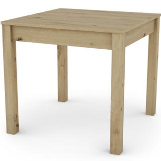 Jídelní stůl David 80x80 cm, dub artisan