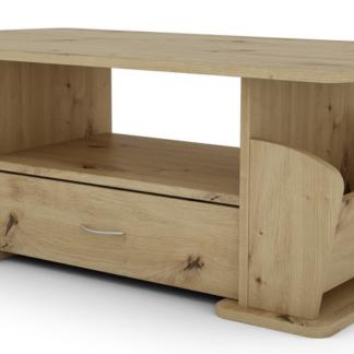 Konferenční stolek Julia 2, dub artisan