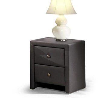 Noční stolek Prima černý Halmar