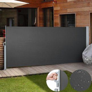 Venkovní zástěna výška 1,8m délka 3m HT180-3 šedá Hometrade