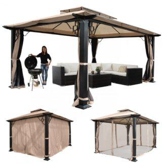 Pergola se střechou 4,5x3,5m WH5112 Dekorhome