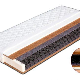 Pružinová matrace Sáva Dřevočal 180 x 200 cm Lyocell