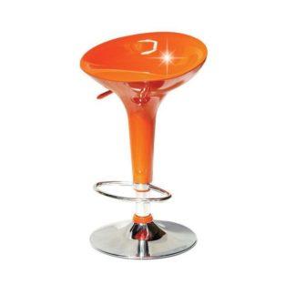 Barová židle INGE NOVA Tempo Kondela Oranžová