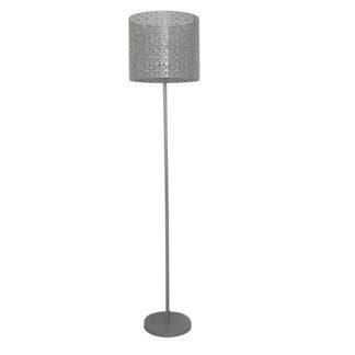 Stojací lampa JADE TYP 9 šedá Tempo Kondela