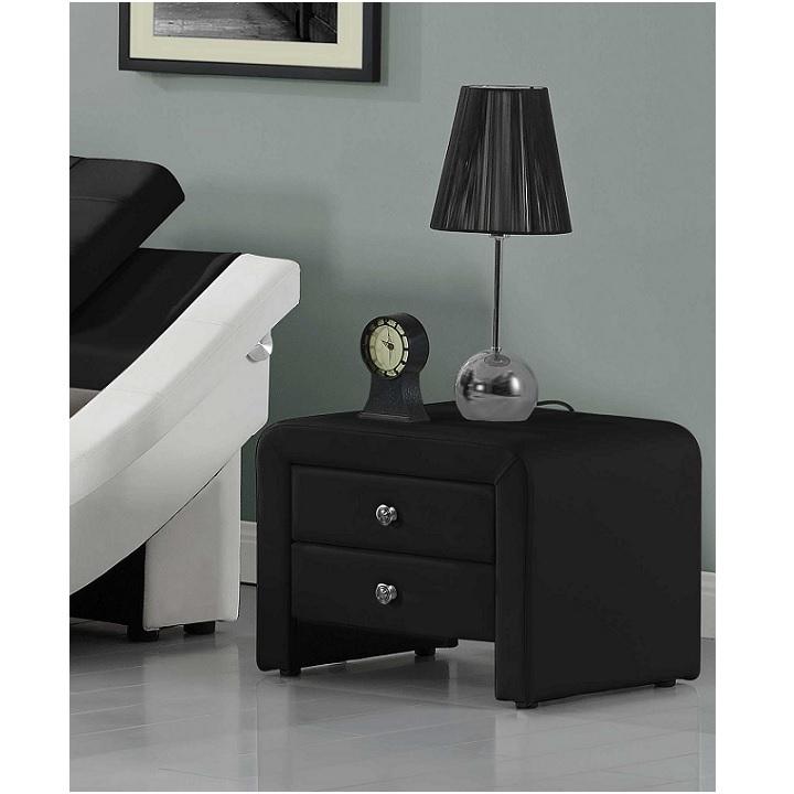 Noční stolek WILSON černá Tempo Kondela