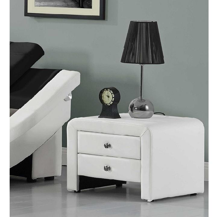 Noční stolek WILSON bílá Tempo Kondela