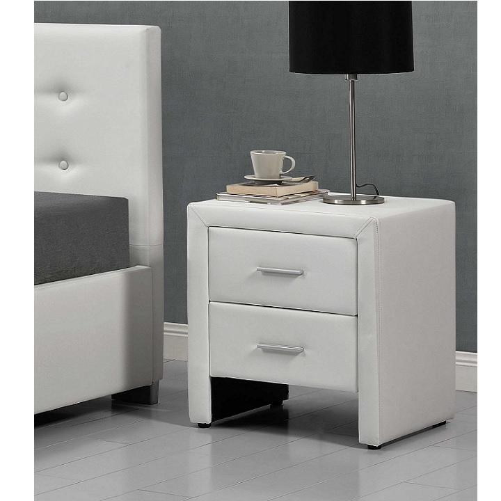 Noční stolek CASTEL bílá Tempo Kondela