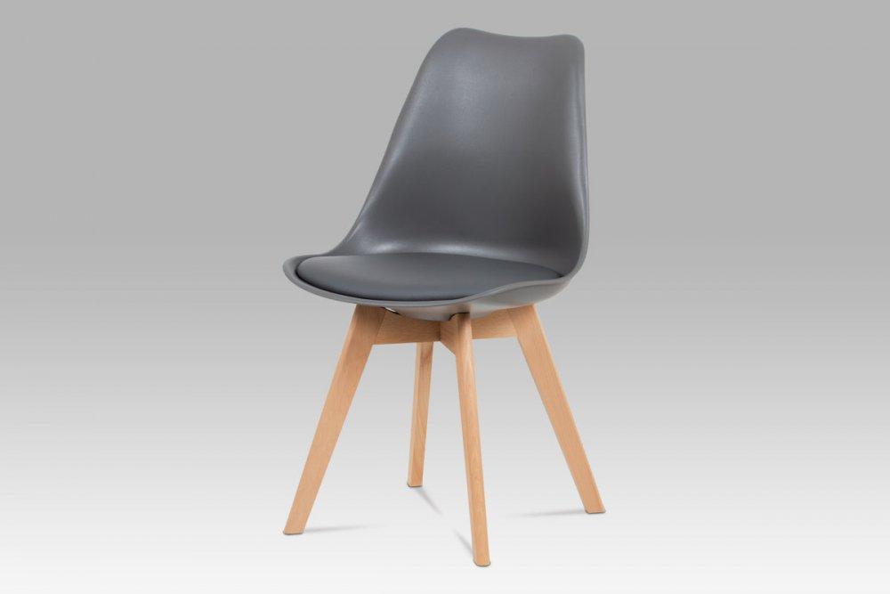 Jídelní židle CT-752 Autronic Šedá