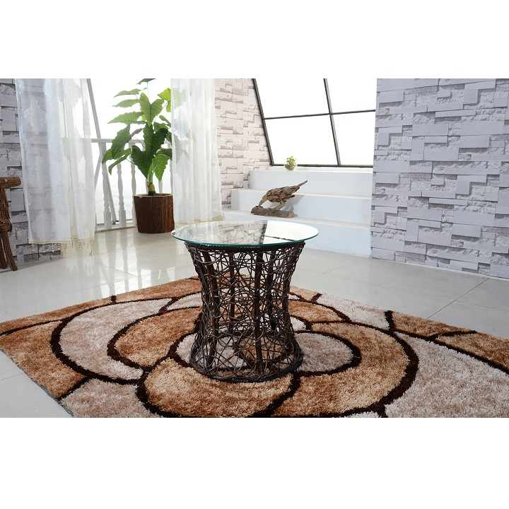 Příruční stolek, hnědá, SALMAR 0000194861 Tempo Kondela