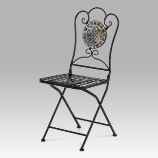 Kovová židle s mozaikou JF2205 Autronic