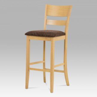 Barová židle BEZ SEDÁKU, bělený dub AUB-5527 OAK1 Autronic