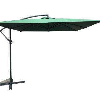 Slunečník kovový NEPROMOKAVÝ 8080 - 270x270cm - zelený Rojaplast