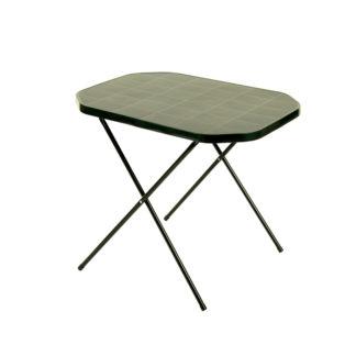 Stůl CAMPING 53x70 - zelený ROJAPLAST