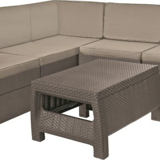 PROVENCE set - cappuchino + pískové podušky Allibert