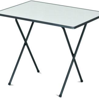 Stůl 60x80 camping SEVELIT antracit/bílá Dajar