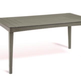 GIRONA stůl - cappucino Allibert