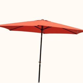 Slunečník NAKLÁPĚCÍ 300cm - terracota ROJAPLAST