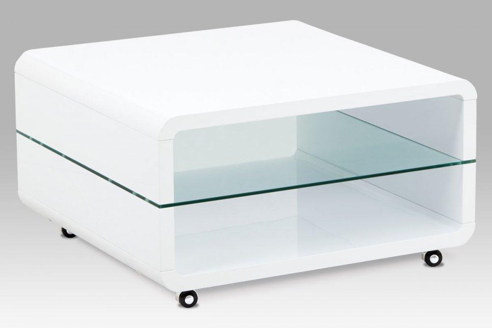 Konferenční stolek AHG-615 WT bílý Autronic