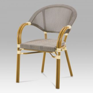 Zahradní židle AZC-100 CAP zlatá / cappuccino Autronic